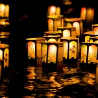 The Haleiwa Jodo Mission Bon Dance and Toro Nagashi (Lantern Floating) on Saturday, July 23, 2011 in Haleiwa, Hawaii.