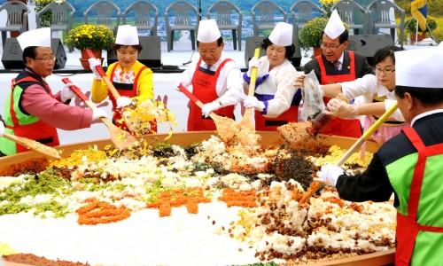 Fermentuotų sojos pupelių festivalis [www.mcst.go.kr]