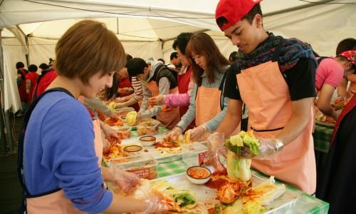 Fermentuotų jūros gėrybių festivalis [www.gyeryongilbo.com]