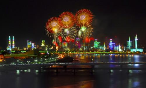 Tarptautinis Pohang fejeverkų festivalis [www.ecnb.co.kr]